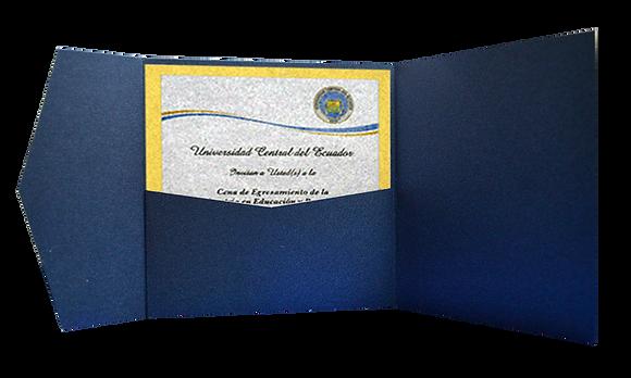 Invitaciones para grado en Quito