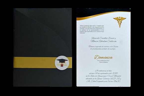 Tarjetas de invitación grado en Quito