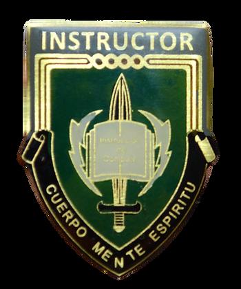 Escarapela Instructor