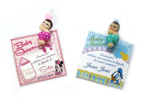 INVITACIÓN BABY SHOWER NIÑO Y NIÑA