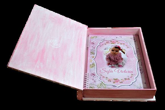 Caja y libro de fotos