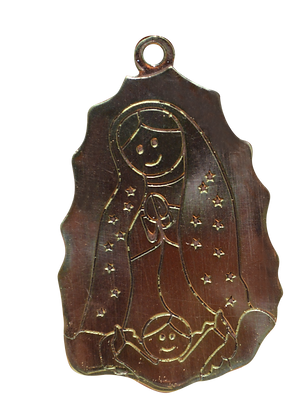 Placa Virgen de Guadalupe