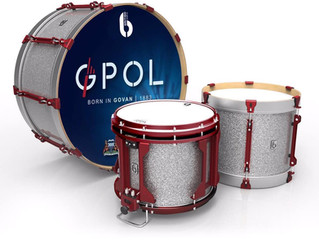 GPOL Drum Corps secure first British Drum Co. Pipe Band Endorsement.