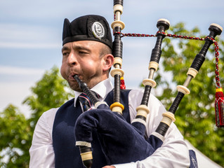 Welcome Pipe Major McLaren - Thank You Pipe Major MacPherson!