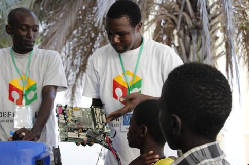Photo Journalism: teaching Kids Tech in Africa