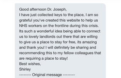 Another NHS staff helped