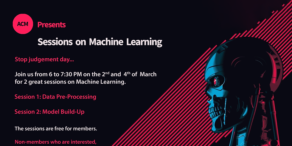 ACM - Sessions on Machine Learning