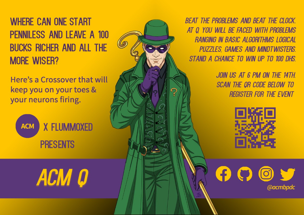 ACM Q x Flummoxed