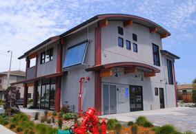 Painted Steel Radius Roof