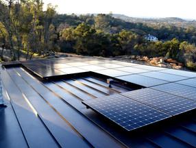 Solar Panel Metal Roofing