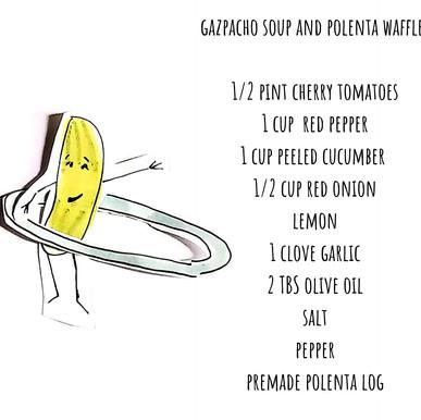 Gazpacho Soup ecipe illustration