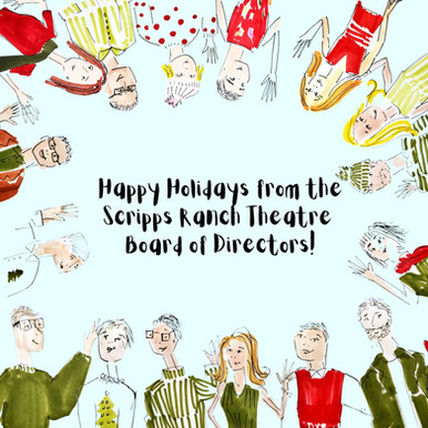 Scripps Ranch Theatre Holiday Card