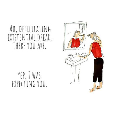 2020 Illustrations: Existential Dread