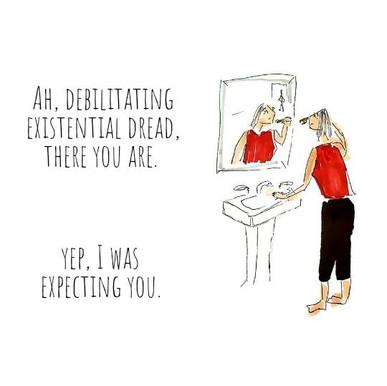2020 Illustrations: Existential Dread
