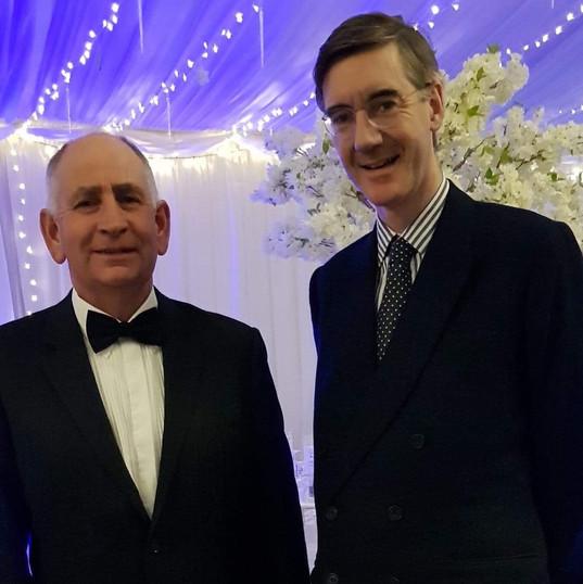 Julian and Jacob Rees Mogg MP