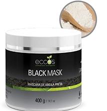 Eccos - Black Mask - Argila Negra Detox