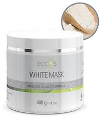 Eccos - White Mask - Argila Branca Clareadora