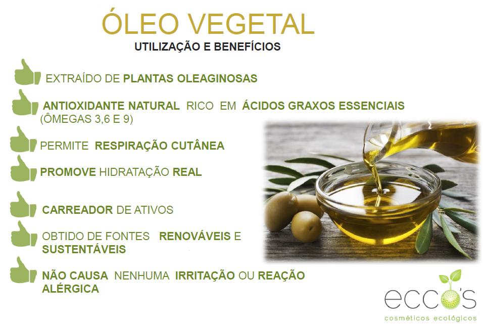 Benefícios do óleo vegetal para sua pele