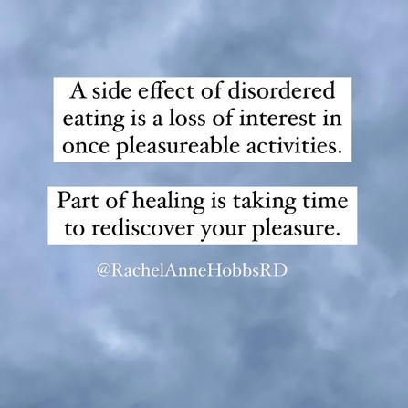 Healing involves rediscovering your pleasure