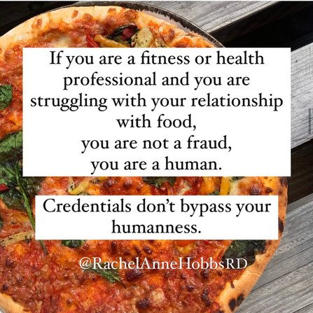 Credentials don't bypass your humanity