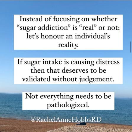 Sugar addiction ...
