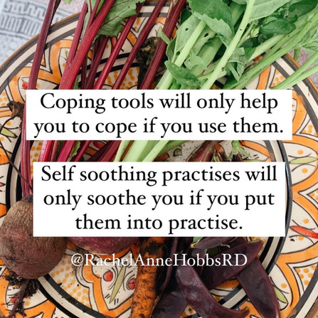 Coping tools only help if you use them
