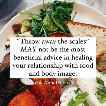 Should you throw away the scales?