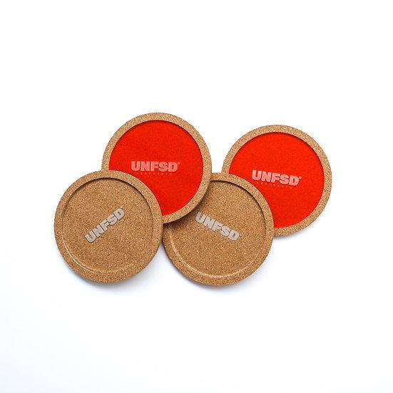 Cork & Acrylic Coaster