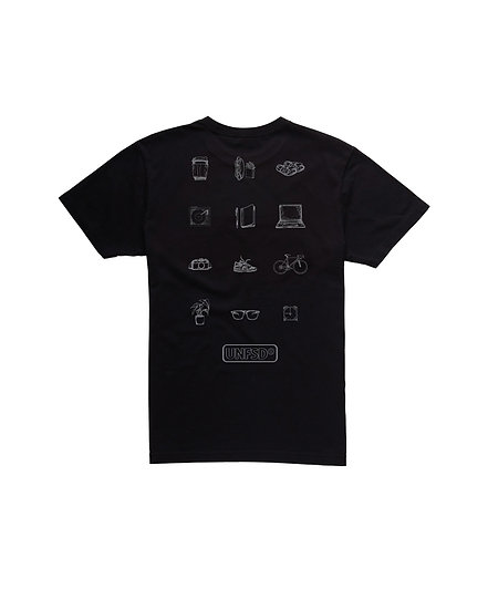 Everyday Equipment - Cotton Tee in Black