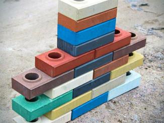 Строительство заборов из лего-кирпича