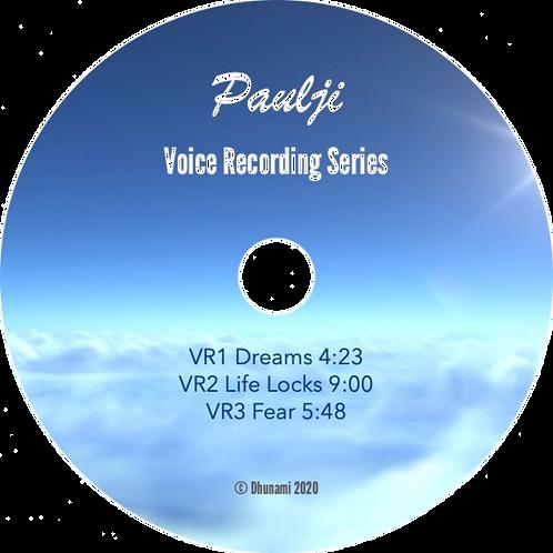 Voice Recordings 1-3