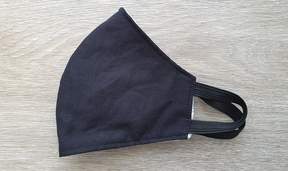 Cotton fabric face mask