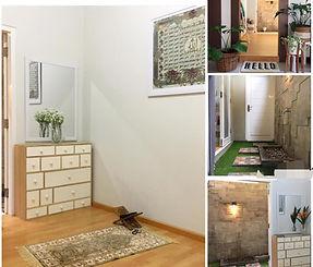 interior minimalis ruang shalat dan whudu'