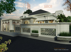 Rumah dan pagar