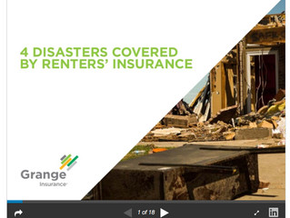 4 Disasters Covered by Ohio Renter's Insurance