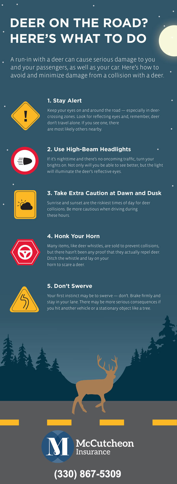 How to Avoid Deer in Road Accidents