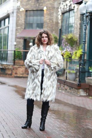 Custom Faux Fur Coat