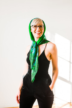 kerchief green over head.jpg