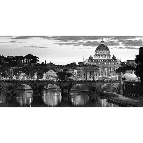 quadro-roma-vista-cattedrale-san-pietro-
