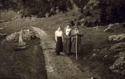 Margit met pensiongasten