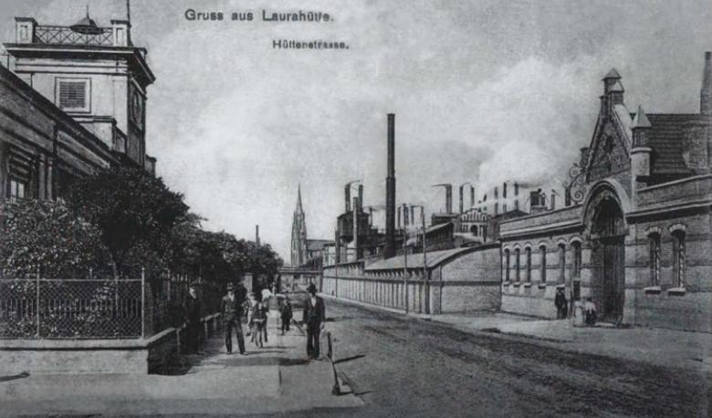 Laurahütte bij Königshütte