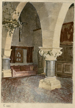 zitkamer in Finstergrün