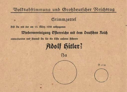 Referendum Anschluss Oostenrijk-Duitslan