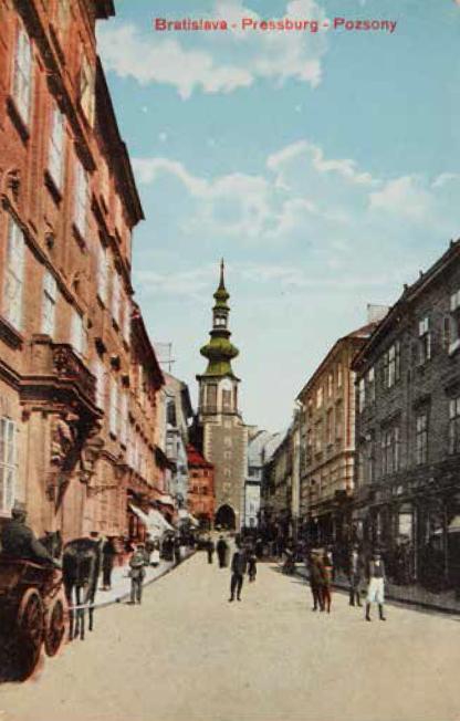 Pressburg (Pozsony)