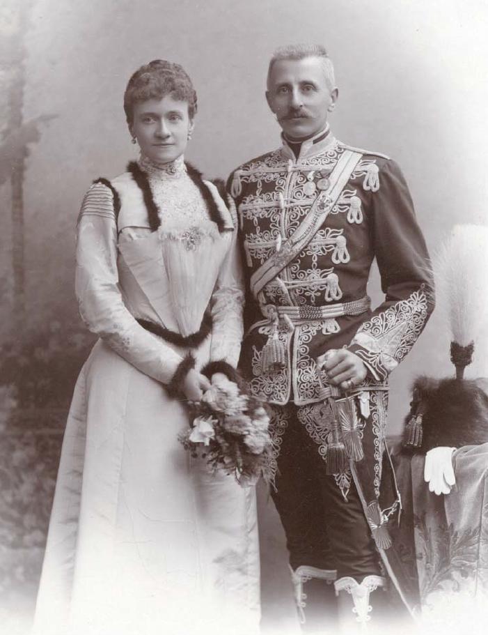 Margarethe en Sándor