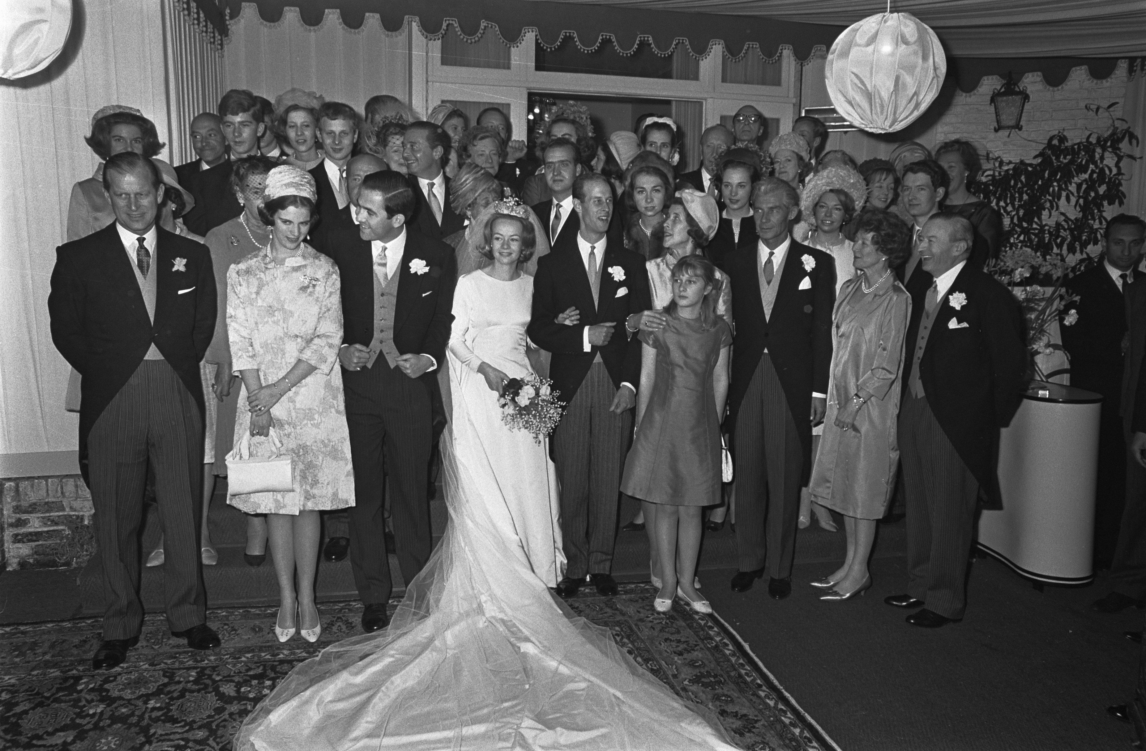 Huwelijk prins Karl von Hessen en gravin Yvonne Szapáry