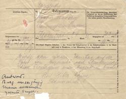 Telegram Goering