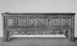 Bruidskist 15e eeuw