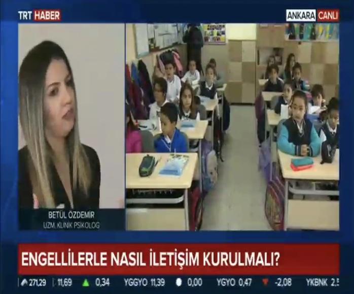 TRT Haber Canlı - Engellilerle İletişim