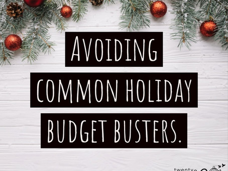 Holiday Budget Busters